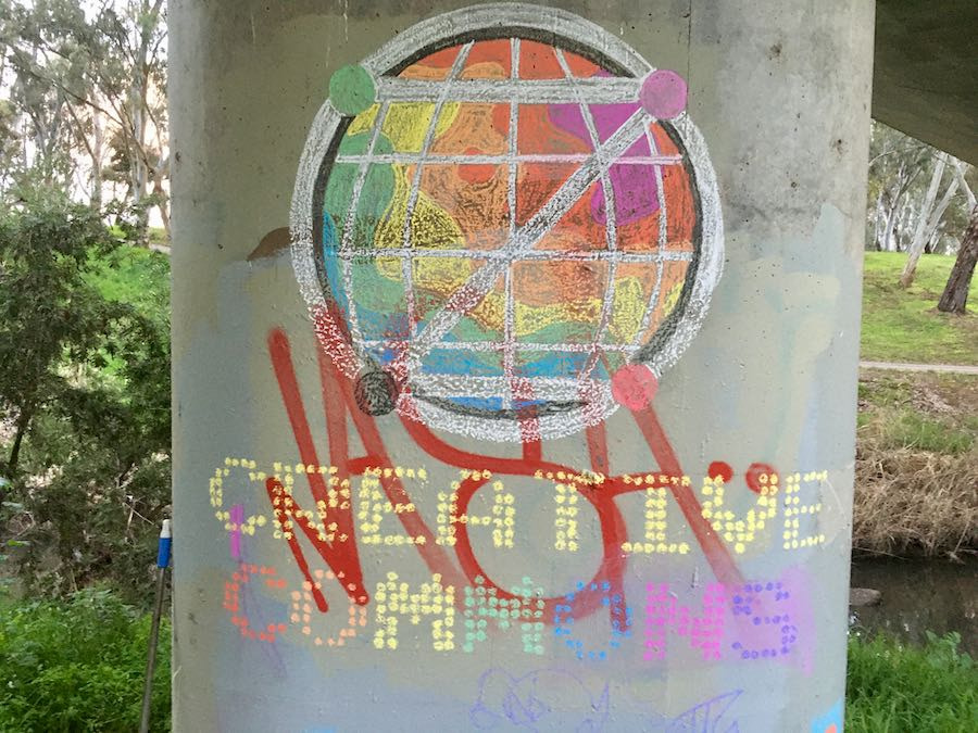 Example: 'Creative Commons' in chalk