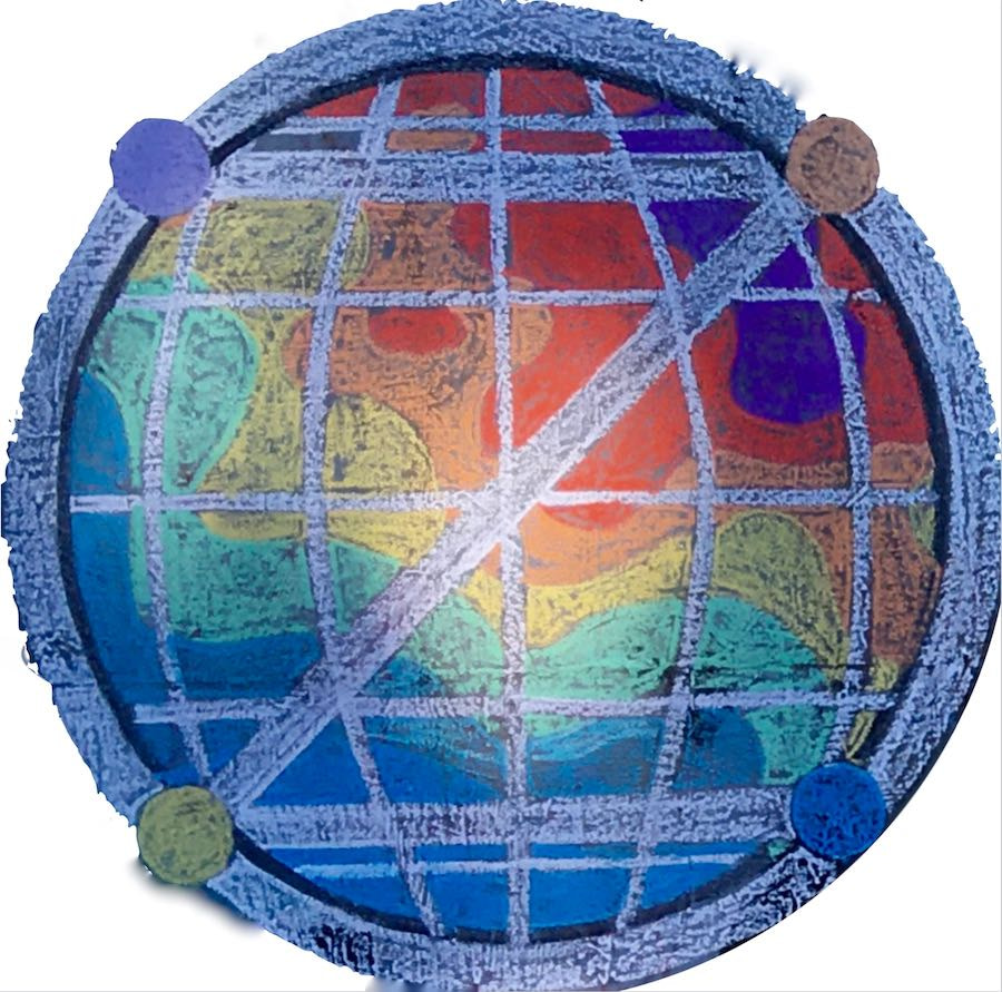 Example: Elaborate dotZero with hotHouse earth in chalk